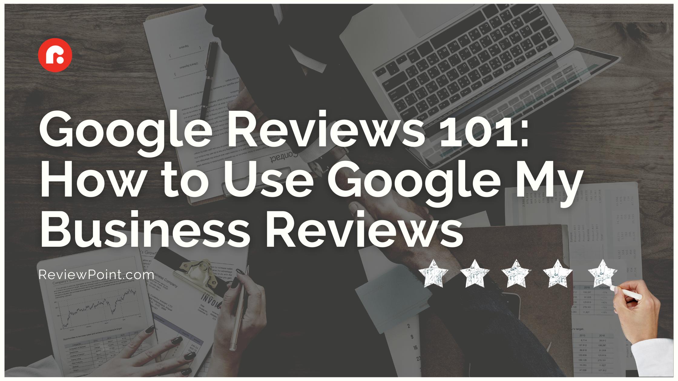 Google Reviews 101_cover